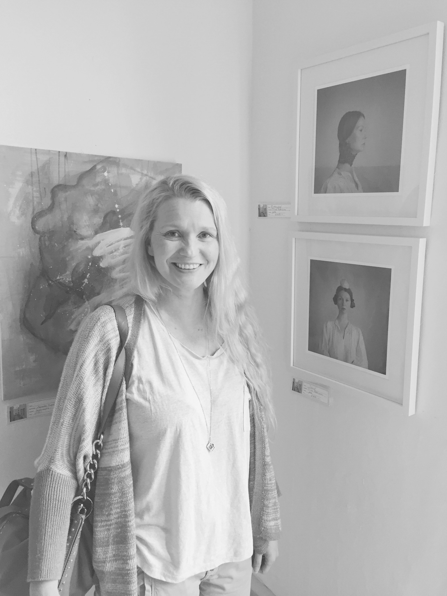 Tiina Petersson exhibition Skövde May 2016